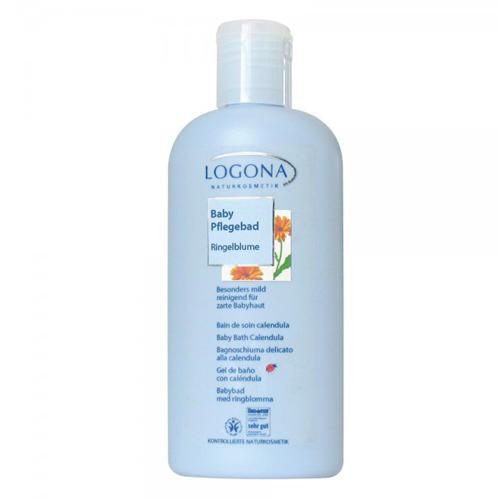 Средство для купания С календулой для младенцев 200 мл (Logona, Calendula) масло с календулой для младенцев с нежным ароматом 200 мл