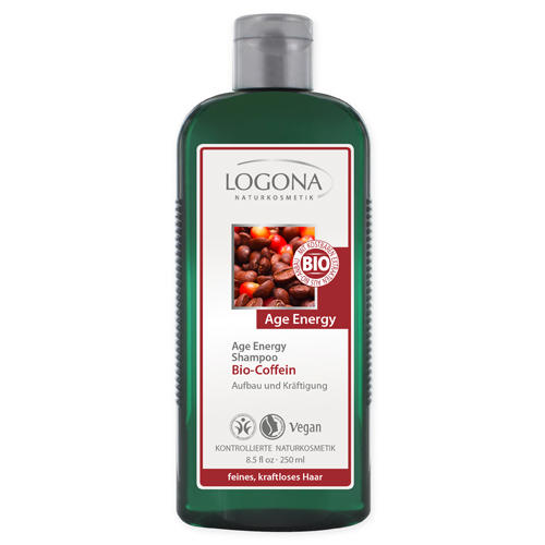 Шампунь с биокофеином 250 мл (Logona, For hair) недорого