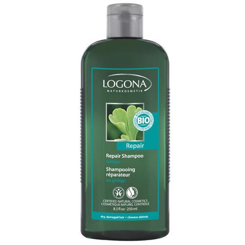 Logona Восстанавливающий шампунь с экстрактом гинкго 250 мл (For hair)