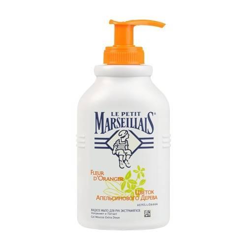 Жидкое мыло Цветок Апельсинового Дерева 300 мл (Le Petit Marseillais, Для тела) le petit marseillais питательный крем для рук карите сладкий миндаль и масло арганового дерева 75мл