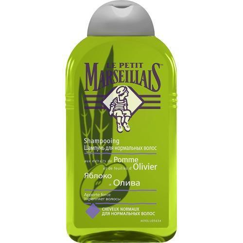 Шампунь для нормальных волос Яблоко и Олива 250 мл (Le Petit Marseillais, Для волос) шампунь своими