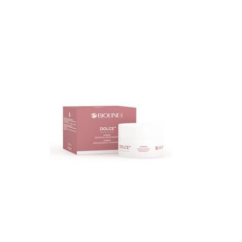 Крем успокаивающий увлажняющий 50 мл (Biolinejato, DOLCE) eldan cosmetics питательный крем для кожи лица склонной к куперозу le prestige 50 мл