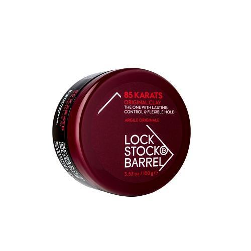 Lock Stock&Barrel Глина матовая для густых волос, степень фиксации (4) 100 гр (Lock Stock&Barrel, 85 Кarats)