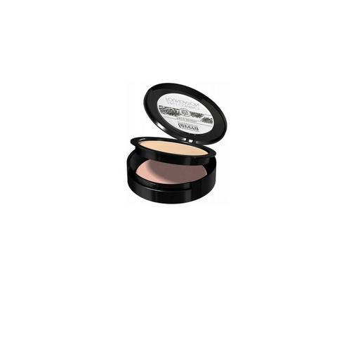 Компактная основа 2 в 1, тон 02 (карамель), 10 г (Lavera, Для макияжа) lavera 40