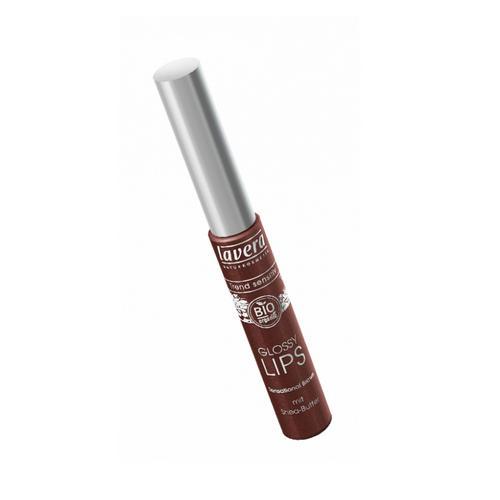 Блеск для губ Сенсационный коричневый, тон 05, 6,5 мл (Lavera, Для макияжа) lavera 40