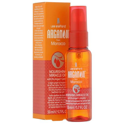 Lee stafford lee stafford питательное аргановое масло для волос arganoil from marocco 50 мл
