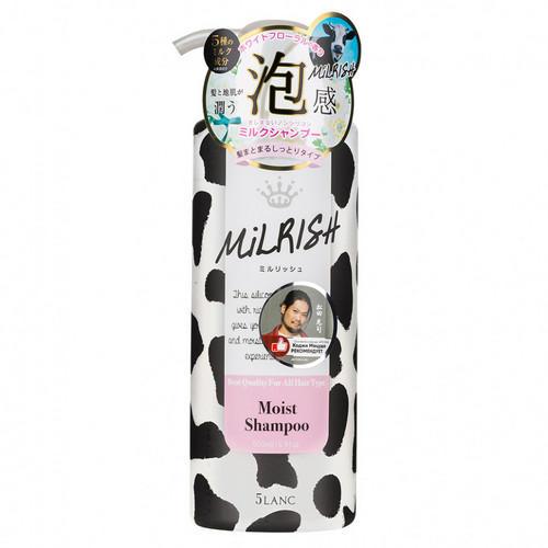 Milrish Шампунь-уход бессиликоновый с молочными протеинами Увлажнение и Сила 500 мл (Milrish, Шампуни и кондиционеры) фото