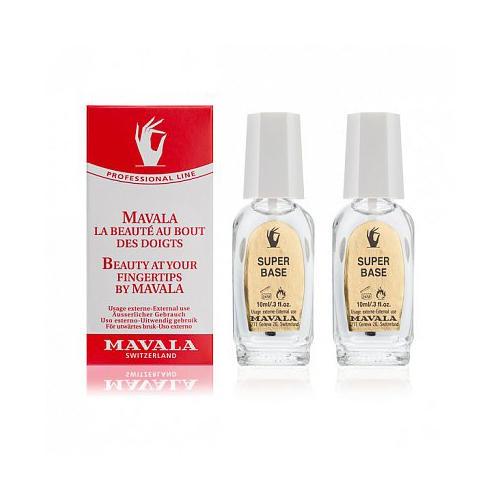 Супер основа под лак 2х10 мл (Manicure) (Mavala)