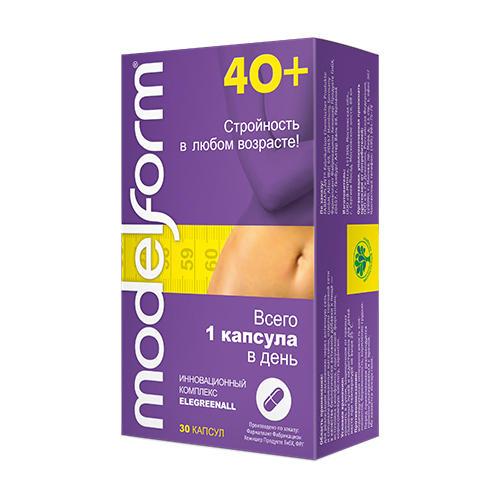 Modelform Модельформ 40+ капсулы 380 мг №30 (Modelform)
