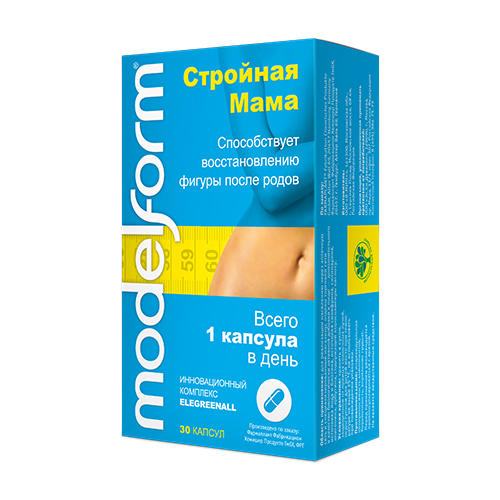 Modelform Модельформ Стройная Мама капсулы 350 мг №30 (Modelform)