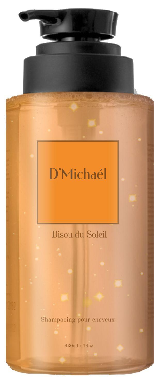 D'Michael Шампунь для рыжих волос Безу дю солей поддержание цвета 430 мл (D'Michael, Les notes de Bisou du soleil)