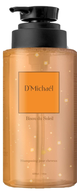 D'Michael Безу дю солей Шампунь для натуральных рыжих 430 мл (D'Michael, Les notes de Bisou du soleil) bisou шампунь для волос