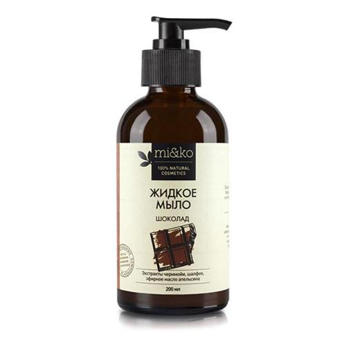 Жидкое мыло Шоколад, 200 мл (MiKo, Для тела) aroma jazz масло массажное жидкое для лица огненный джаз 200 мл