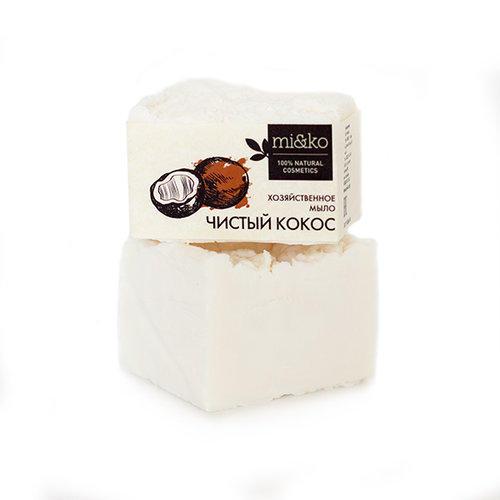 Купить Mi&Ko Хозяйственное мыло Чистый кокос , 175 г (Mi&Ko, Для дома), Россия