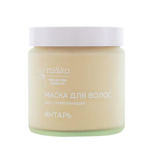 Купить Mi&Ko Маска для волос Янтарь , 120 мл (Mi&Ko, Для волос), Россия