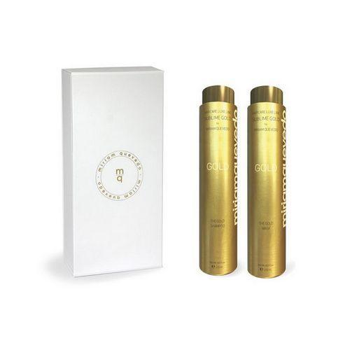 Золотой набор для интенсивного питания волос 1 шт (Miriam Quevedo, Sublime gold) фиксирующий спрей для волос с экстрактом черной икры 150 мл miriam quevedo extreme caviar antiage