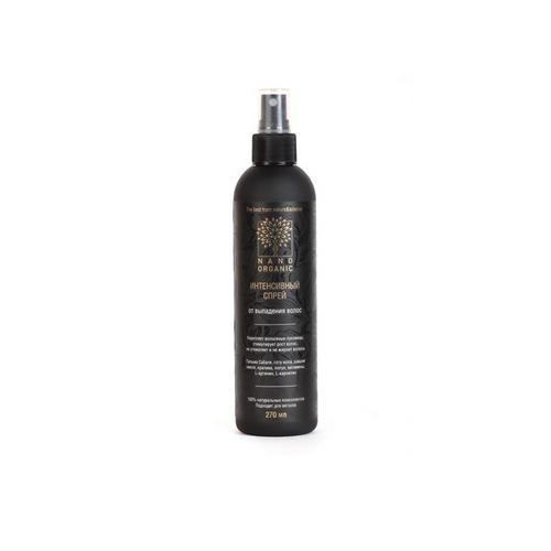 Купить Nano Organic Спрей от выпадения волос для кожи головы, 270 мл (Nano Organic, Для волос), Россия