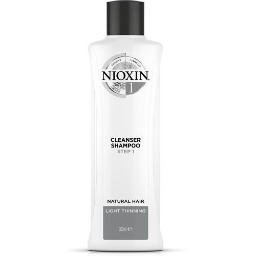nioxin система 1 очищающий шампунь система 1 очищающий шампунь 300 мл System 1 Очищающий шампунь 300 мл (Nioxin, System 1)