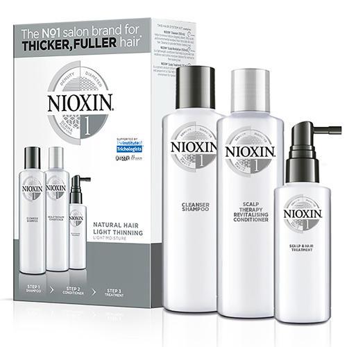 Набор 3хступенчатая система System 1 (Nioxin, System 1) nioxin scalp revitaliser system 4 увлажняющий кондиционер система 4 1000 мл