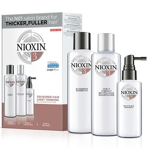 Набор 3хступенчатая система System 3 (Nioxin, System 3) nioxin scalp revitaliser system 4 увлажняющий кондиционер система 4 1000 мл