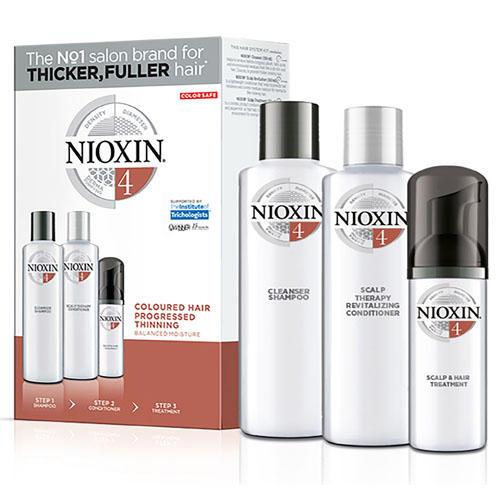 Набор 3хступенчатая система System 4 (Nioxin, System 4) nioxin scalp revitaliser system 4 увлажняющий кондиционер система 4 1000 мл