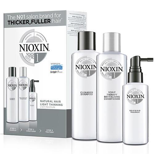 Набор 3хступенчатая система System 1, XXLформат (Nioxin, System 1) nioxin scalp revitaliser system 4 увлажняющий кондиционер система 4 1000 мл