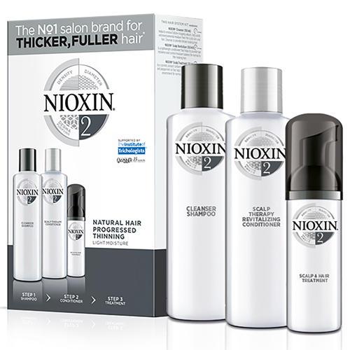Набор 3хступенчатая система System 2, XXLформат (Nioxin, System 2) nioxin scalp revitaliser system 4 увлажняющий кондиционер система 4 1000 мл