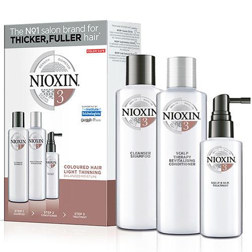 Набор 3хступенчатая система System 3, XXLформат (Nioxin, System 3) nioxin scalp revitaliser system 4 увлажняющий кондиционер система 4 1000 мл