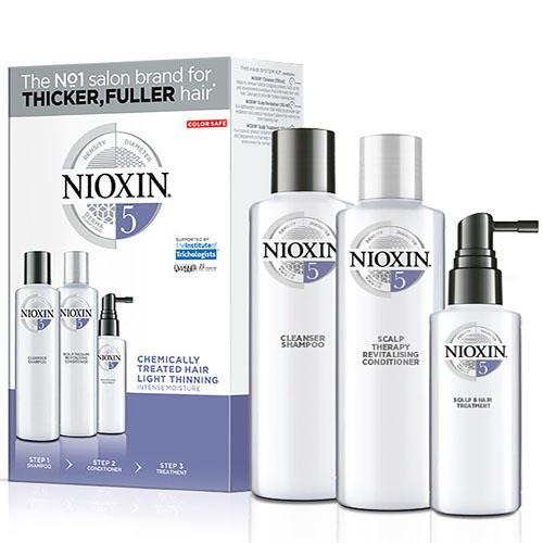 Набор 3хступенчатая система System 5, XXLформат (Nioxin, System 5) туризм лондон