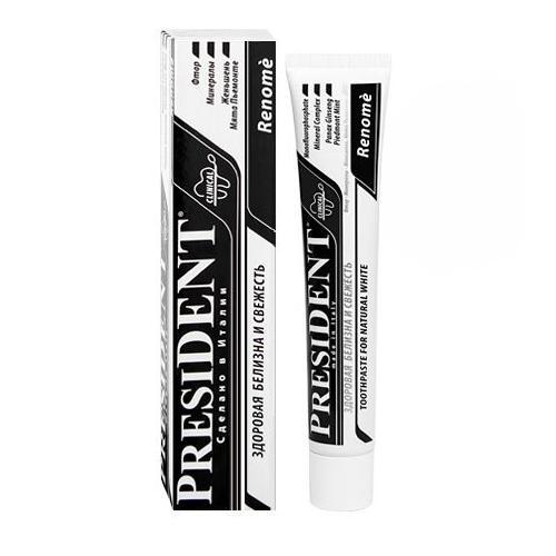 Купить President Реноме паста зубная 50 мл (President, Отбеливание), Италия