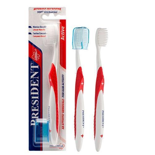 все цены на Актив зубная щетка (President, Active) онлайн