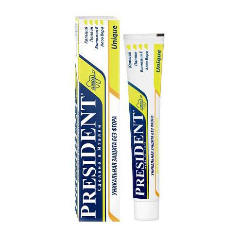 President Юник паста зубная 50 мл (Unique)