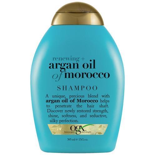 OGX Восстанавливающий шампунь с аргановым маслом Марокко 385 мл (OGX, Для волос) кондиционер для окрашенных волос ogx с маслом орхидеи и виноградных косточек 385 мл
