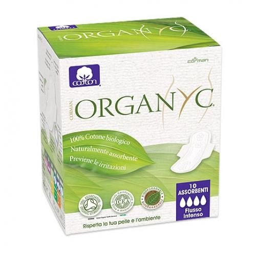 ��������� � ���������� ������, ������������, 10�� (female hygiene) (Organyc)