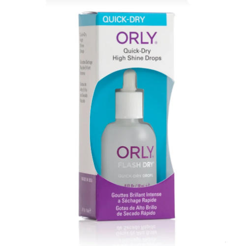 Orly Сушка-момент для сияния Flash Dry Drops, 18 мл (Orly, Премиальный уход)