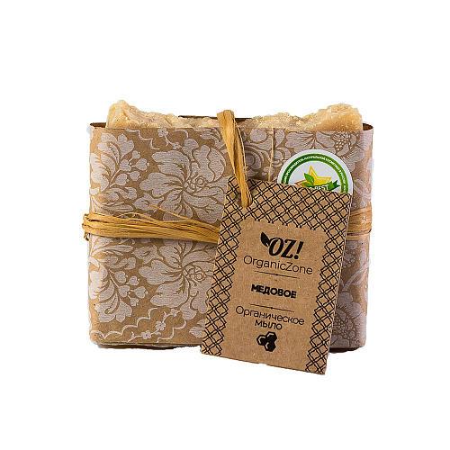 Мыло Медовое 120 мл (OZ OrganicZone, Мыло) мыло косметическое organiczone натуральное мыло на ценных органических маслах медовое
