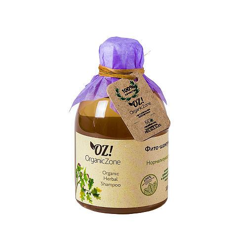 Фитошампунь Нормализующий 300 мл (OZ OrganicZone, Шампуни) шампуни антисеборейные