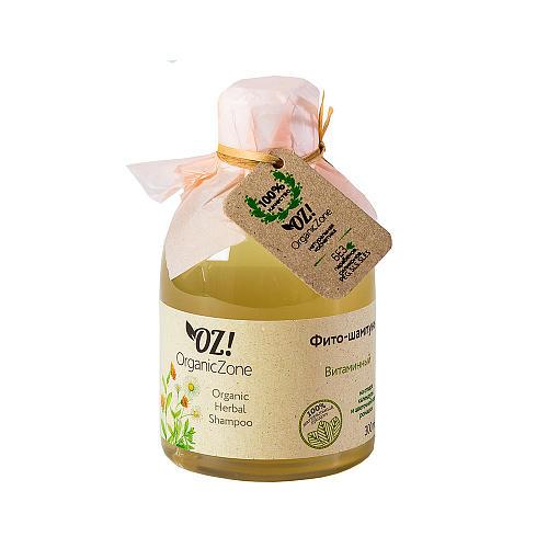 Фитошампунь Витаминный 300 мл (OZ OrganicZone, Шампуни) шампуни сьес