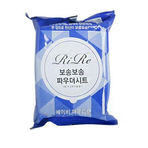 Салфетки для тела Bosong bosong powder sheet (Baby powder), 20 шт (RiRe, Уход за телом)