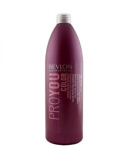 Фото - Шампунь для сохранения цвета окрашенных волос 1000 мл (Revlon Professional, Pro You) revlon маска для сохранения цвета окрашенных волос pro you color 500 мл