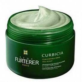 Рене Фуртерер Шампунь-маска очищающий для жирных волос 200 мл (Curbicia) (Rene Furterer)