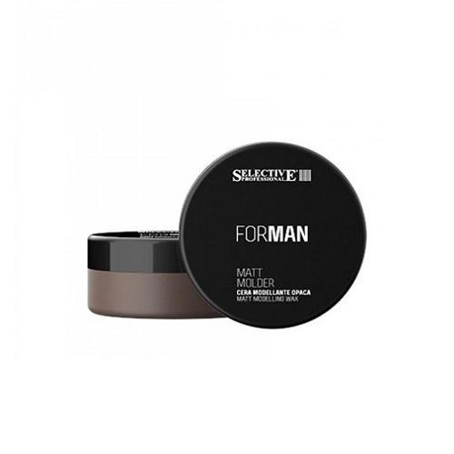 Selective Матовый моделирующий воск Matt molder 100 мл (Selective, For Man Line) фото
