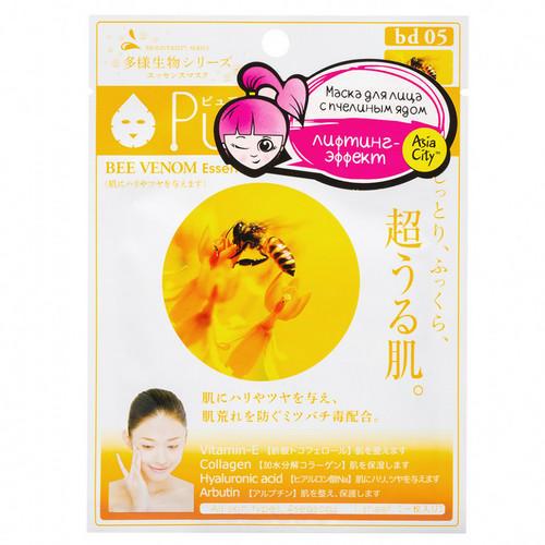 Sun Smile Маска для лица с пчелиным ядом 1 шт (Sun Smile, Venom)