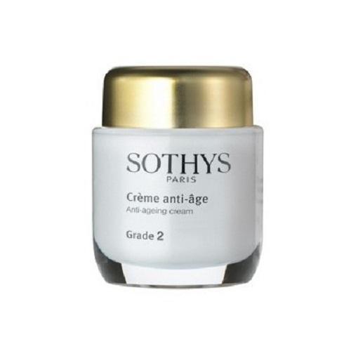Активный аntiage крем GRADE2 для нормальной и комбинированной кожи 50мл (Sothys, AntiAge Sothys) грин фарма фармаанти виесма крем от морщин д норм и смешанной кожи диспенсер 50мл