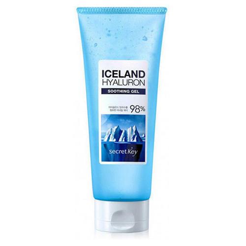 Купить Secret key Гель для тела увлажняющий с гиалуроновой кислотой Iceland Hyaluron Soothing Gel, 200 мл (Secret key, Body / Hair), Южная Корея