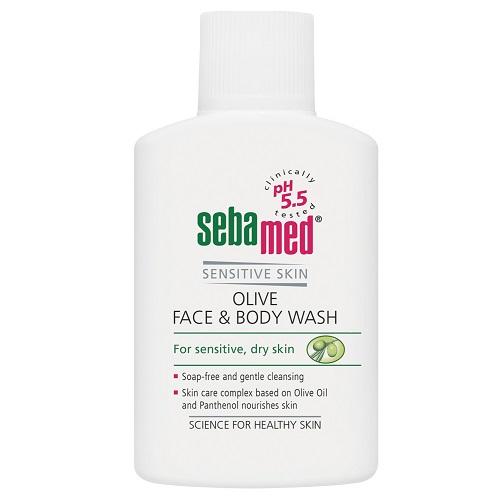 Sebamed Гель для лица и тела очищающий оливковый 200 мл (Sebamed, Sensitive Skin)