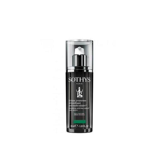 цена Antiage омолаживающая сыворотка для детокса кожи Mini Detoxifying AntiFree Radical Youth Serum Мин (Sothys, AntiAge Sothys) онлайн в 2017 году