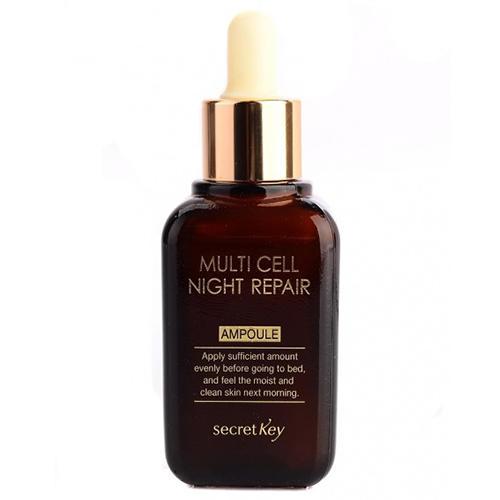 Сыворотка для лица ночная Multi Cell Night Repair Ampoule, 50 мл (Secret key, Essence ampoule)