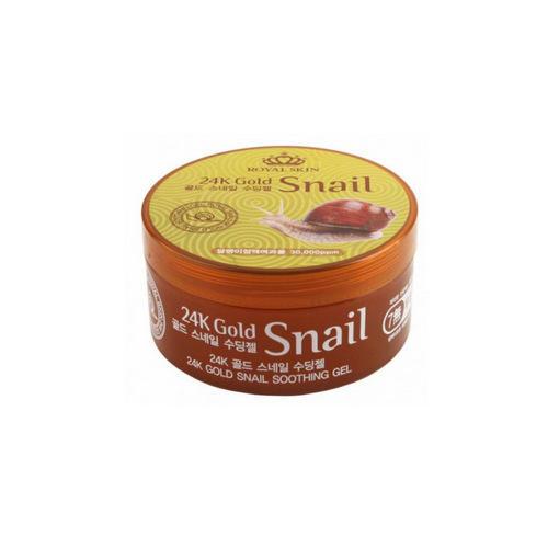 Купить Royal Skin Многофункциональный гель для лица и тела с 24 каратным золотом и улиточной слизью, 300 мл (Royal Skin, Для лица), Южная Корея