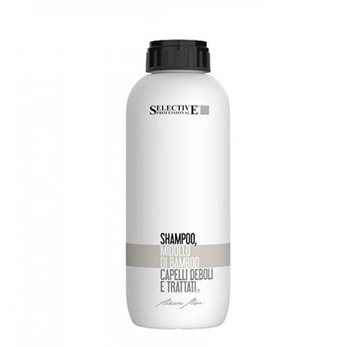 Купить Selective Шампунь с вытяжкой из бамбука для химически обработанных волос Midollo 1000 мл (Selective, Artistic Flair Line), Италия